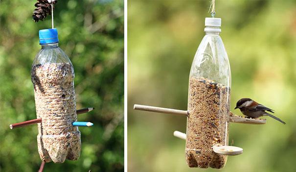 cách tái chế chai nhựa