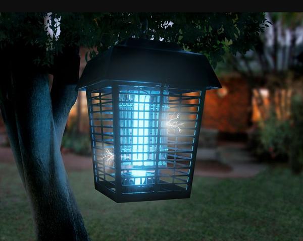 Đèn bắt muỗi có hiệu quả không