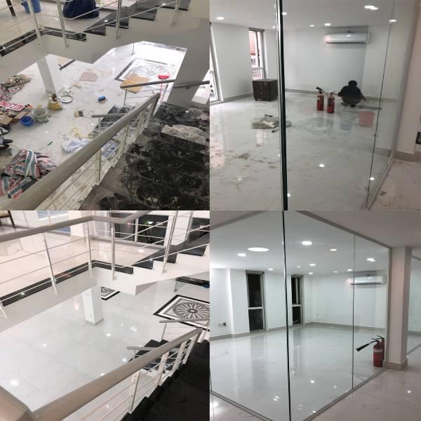 Nhà mới xây dựng xong