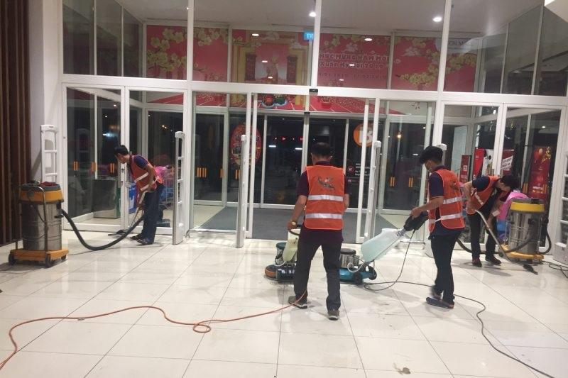 dịch vụ tổng vệ sinh công trình