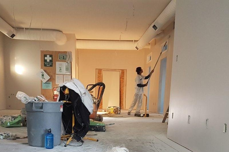vệ sinh căn hộ sau xây dựng